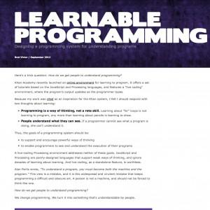 bretvictor-learnableprogramming-5d50a80c250b6c3c760700b6f3e349f5