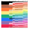 Visual Timeline of Crayola Color Changes