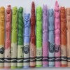 Crayons Carved As The 12 Chinese Zodiacs