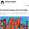 An Exercise Program for the Fat Web