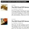 The Morning News - Good Gift Games 2013
