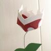 Paper Piranha Plant Flowers