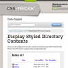 Styled Directory Listings