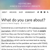 Kottke: What do you care about?